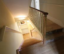 North London staircase lighting